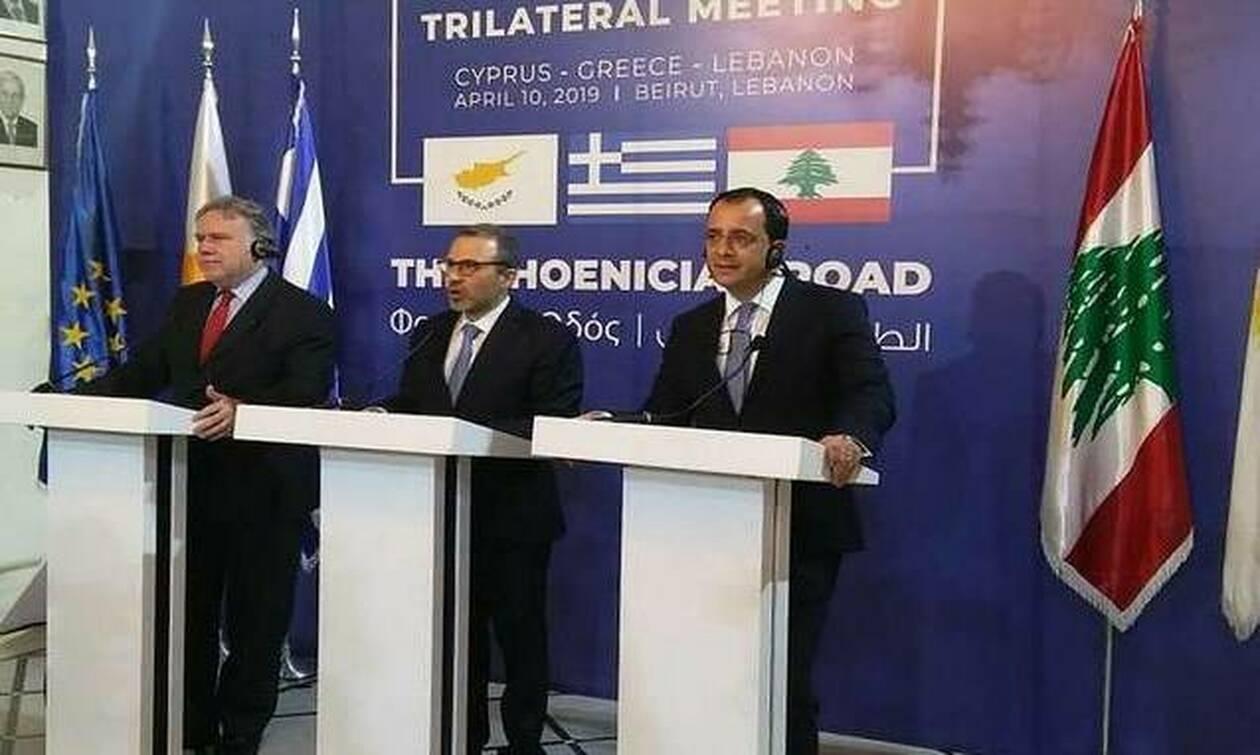 Στην Κύπρο η πρώτη Τριμερής Σύνοδος Κορυφής Κύπρου-Ελλάδας-Λιβάνου