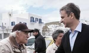 Εκλογές 2019 - Μητσοτάκης: Περιοδεία σε Πάρο και Νάξο