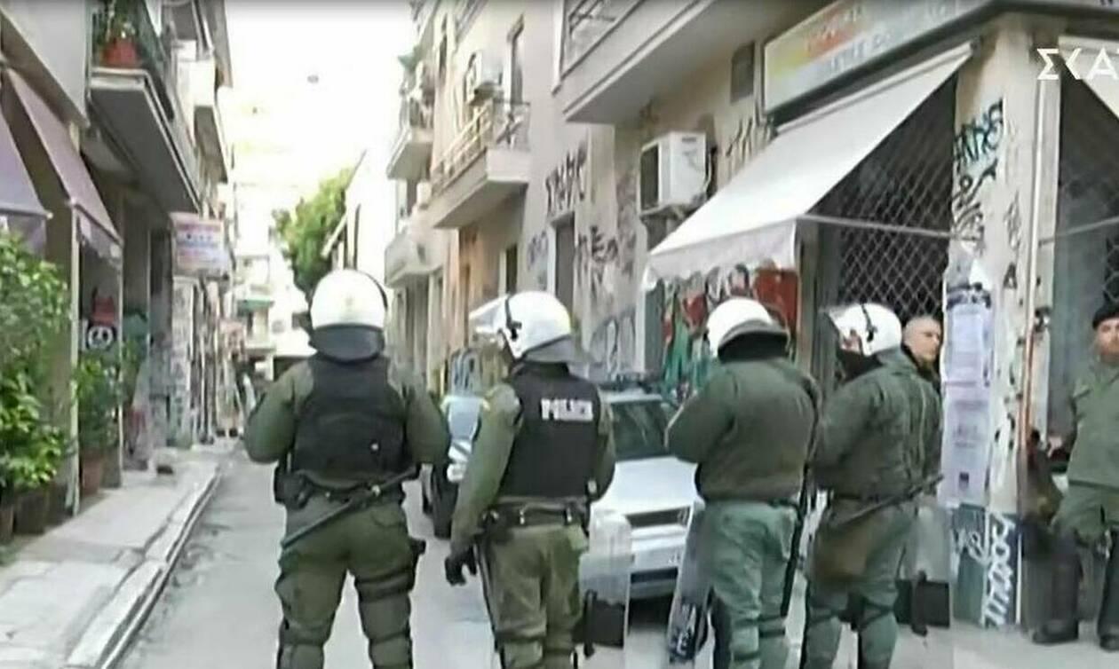 Греческая полиция провела масштабную операцию «Метла» в центре Афин