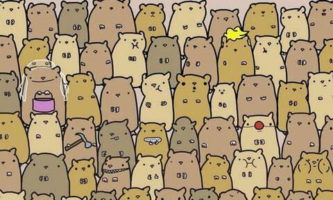 Μπορείς να βρεις που είναι η πατάτα; - Μόνο 1 στους 1000 μπορεί!