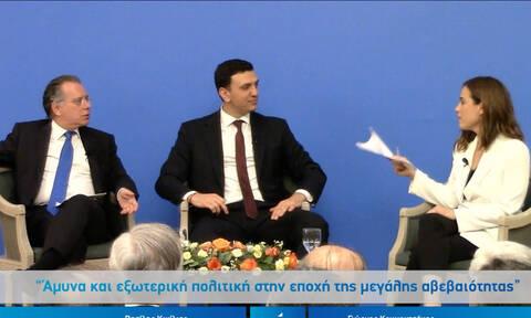 Κικίλιας και Κουμουτσάκος στο Caravel σε μια συζήτηση για την Άμυνα και την εξωτερική πολιτική