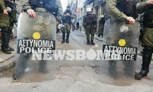 Three arrested and 102 detained during operation in Exarchia