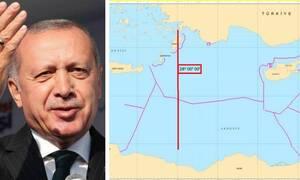 Τρελάθηκε ο Ερντογάν: Με επιστολή στον ΟΗΕ διεκδικεί από την Κύπρο μέχρι την Κρήτη
