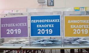 Εκλογές 2019: Tέσσερα διαφορετικά χρώματα παραβάν στις κάλπες