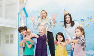 Παιδικό πάρτι: Παιχνίδια για παιδιά κάτω των 3 ετών
