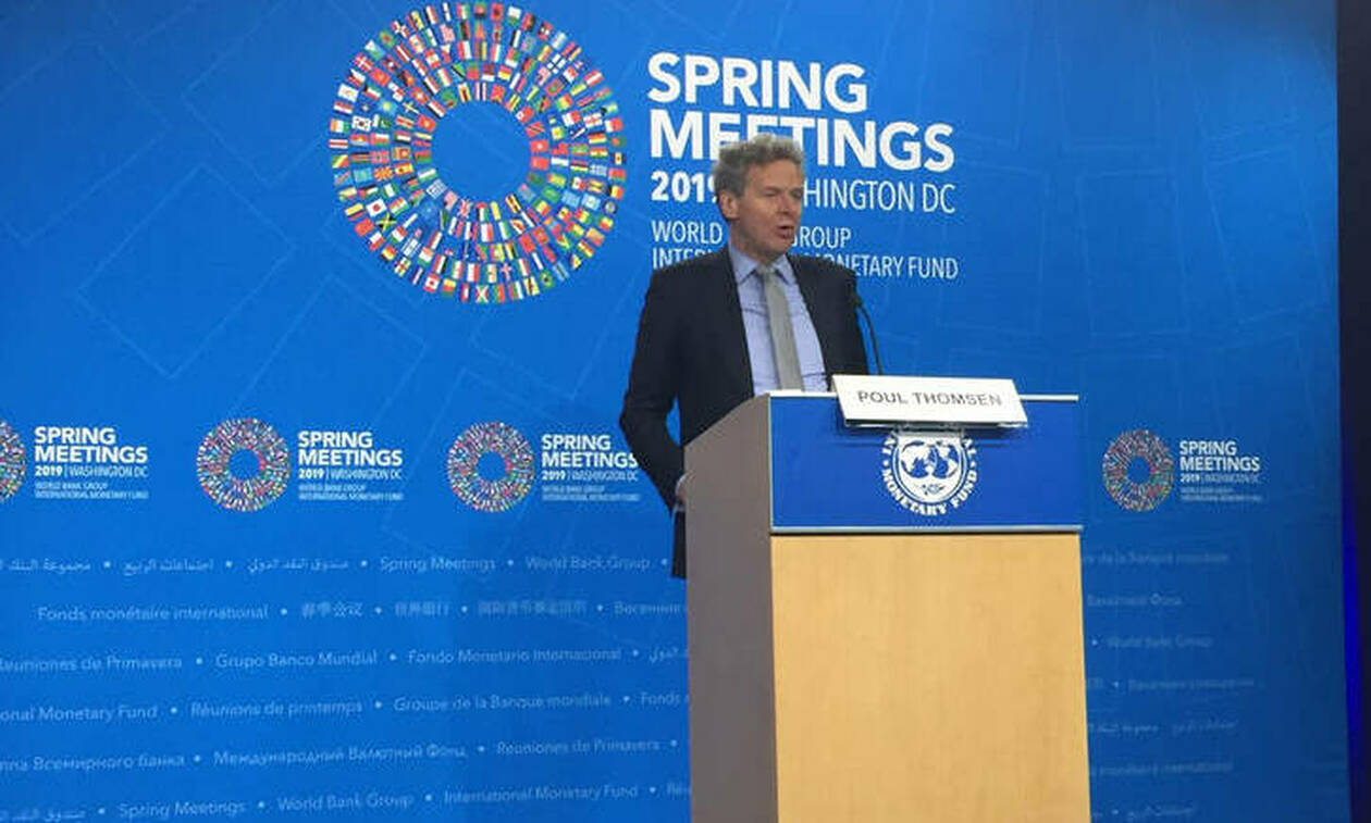 Τόμσεν: Καλοδεχούμενη η πρόωρη αποπληρωμή του ΔΝΤ