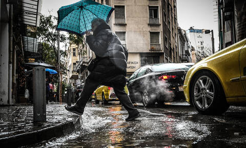 Καιρός: Χειμώνας και την Κυριακή – Πού θα σημειωθούν ισχυρές καταιγίδες (pics)