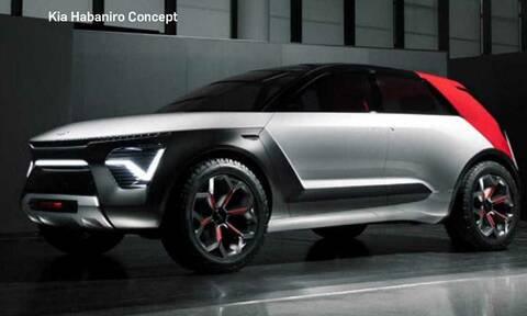 Με το Habaniro η Kia θα παρουσιάσει ένα ακόμα πιο μοντέρνο SUV