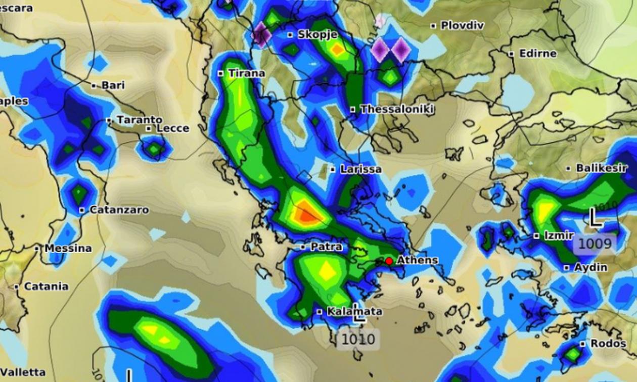 Καιρός Πάσχα 2019: Ανατροπή! Μας τα χαλάει ο καιρός - Δείτε πού θα βρέχει (vids)