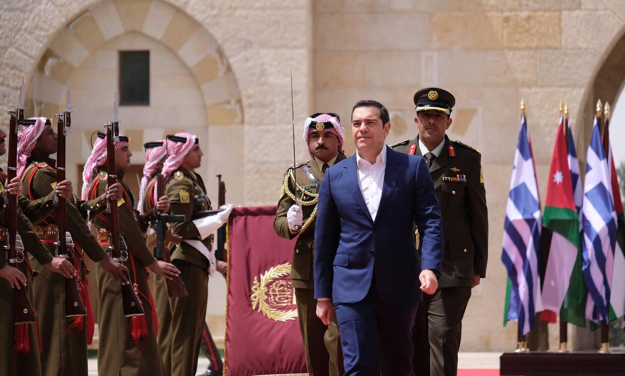 Τσίπρας: Η συνεργασία με Κύπρο και Ιορδανία ενδυναμώνει την σταθερότητα στην περιοχή