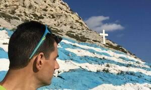 Συγκλονιστική μαρτυρία για το θάνατο του αστυνομικού: «Υποχώρησε το χιόνι κι έφυγε στο κενό» (pics)