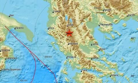 Σεισμός κοντά στην Κόνιτσα (pics)
