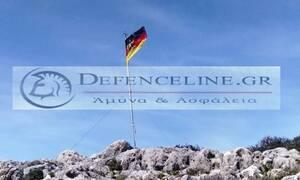Φωτογραφίες – πρόκληση: Σήκωσαν τη γερμανική σημαία στα Χανιά