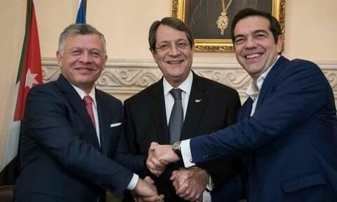 В Аммане состоялась встреча на высшем уровне при участии Греции, Кипра и Иордании