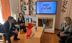 Δημοτικές εκλογές 2019: Ο Κώστας Μπακογιάννης στις δομές ψυχικής υγείας της «ΑΠΟΣΤΟΛΗΣ»