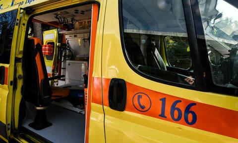 Τροχαίο στη Μεταμόρφωση: Η Πυροσβεστική απεγκλώβισε ένα άτομο