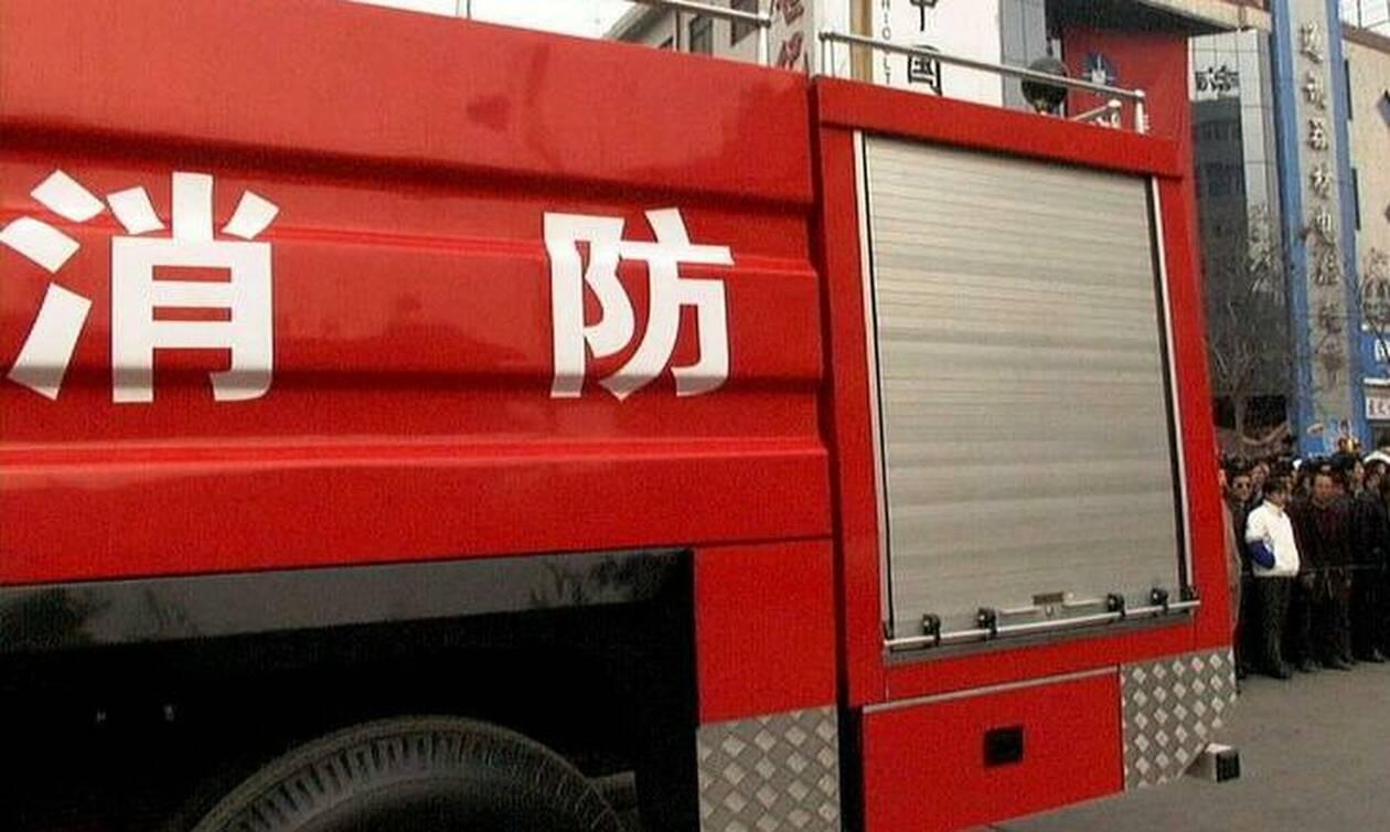 Τραγωδία στην Κίνα: Δέκα νεκροί από φωτιά σε φαρμακοβιομηχανία