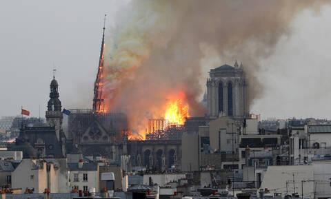 Παναγιά μου - Παγκόσμιο σοκ: Η φωτιά στην Παναγία των Παρισίων καίει τις καρδιές μας