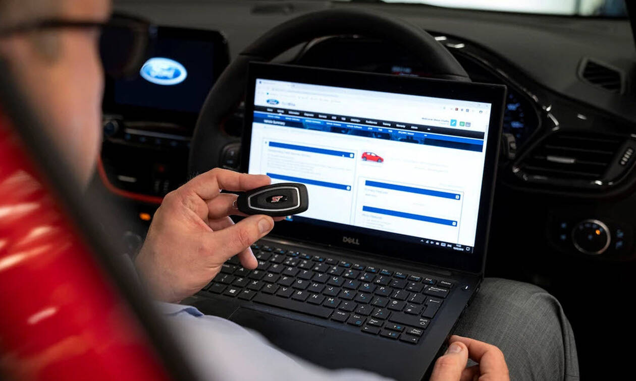 H Ford παρουσιάζει τα κλειδιά που δεν μπορούν να υποκλαπούν