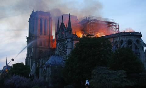 Παναγία των Παρισίων: Γροθιά στο στομάχι οι εικόνες του ναού πριν και μετά τον πύρινο εφιάλτη (pics)