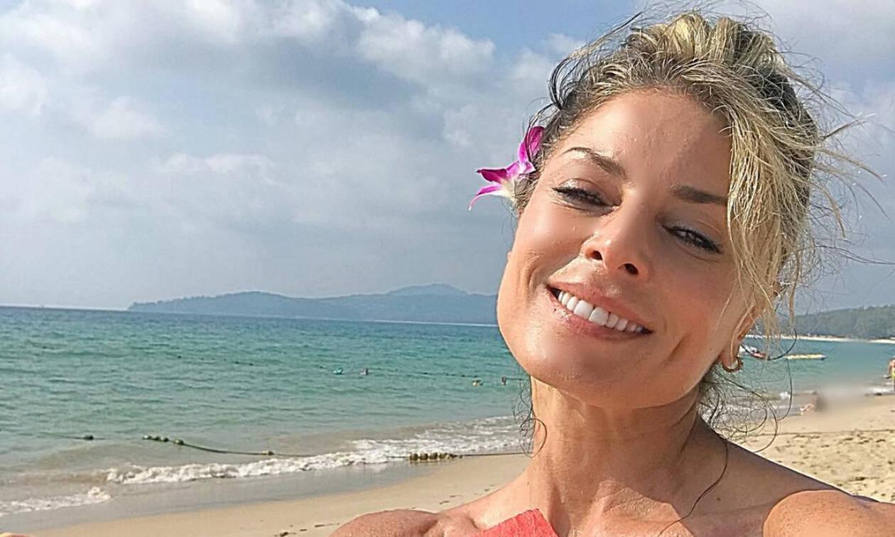 Κατερίνα Λάσπα: Κόβει ανάσες η 44χρονη με το τέλειο κορμί της – Φωτό από τις διακοπές της