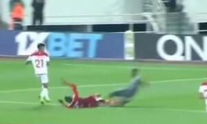 ΣΟΚ: Φρικιαστικός τραυματισμός τερματοφύλακα! (video)