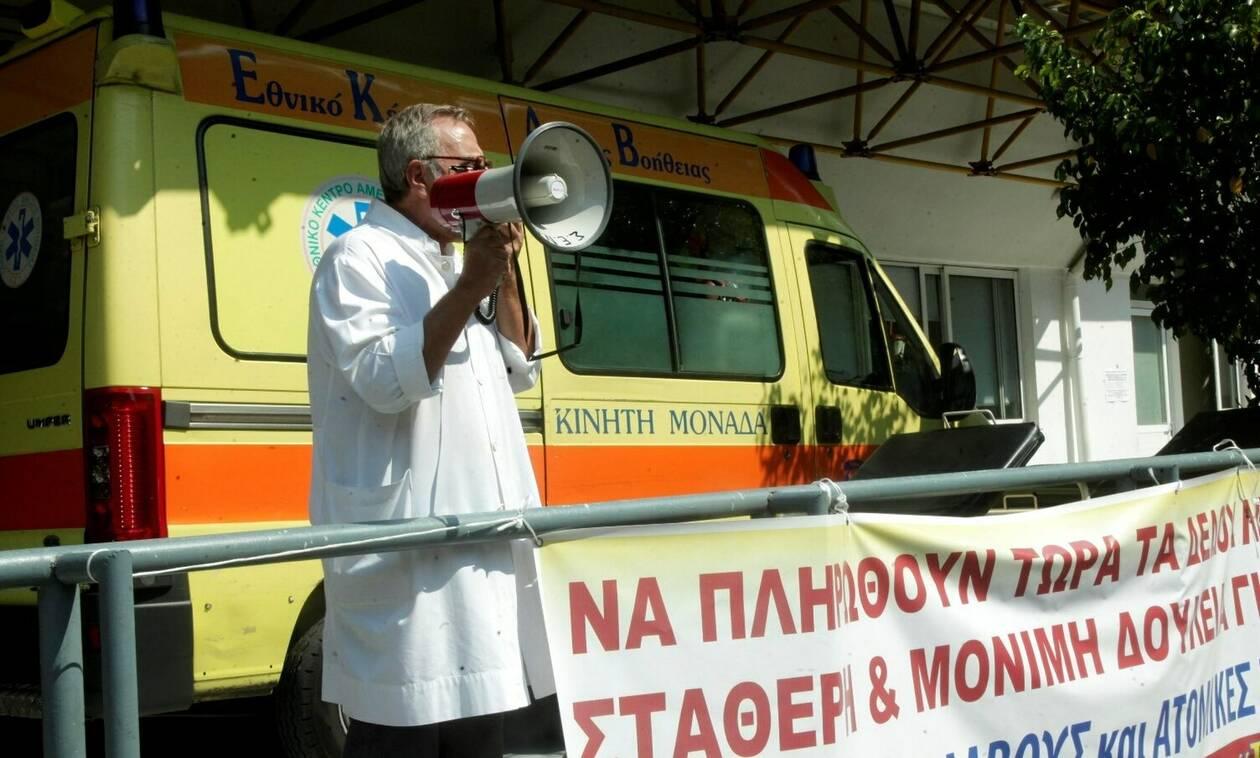 Για νέες κινητοποιήσεις ετοιμάζονται οι νοσοκομειακοί γιατροί - Σύσκεψη στον «Ευαγγελισμό»