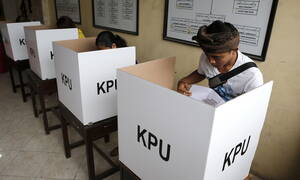 Ινδονησία: Σε εξέλιξη οι μεγαλύτερες και πιο περίπλοκες εκλογές στον κόσμο (pics)