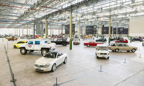 Η βόλτα στο απίστευτο νέο μουσείο κλασικών αυτοκινήτων της Fiat-Chrysler είναι εντυπωσιακή