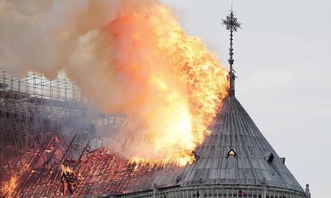 Παναγία των Παρισίων: Χαμός με τις θεωρίες συνομωσίας - Το βίντεο - ντοκουμέντο από το κωδωνοστάσιο