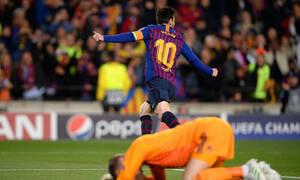 Champions League: Προλαβαίνει ο Μέσι να περάσει τον Κριστιάνο Ρονάλντο; (photo)