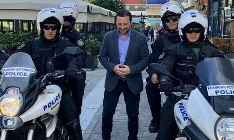 Εκλογές 2019 - Σαράντος Ευσταθόπουλος: «Υποκλίνομαι στα στελέχη της ΕΛ.ΑΣ για το έργο που επιτελούν»