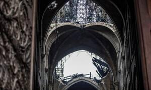 Παναγία των Παρισίων: Αποκαρδιωτικές εικόνες - Drone αποκαλύπτει το μέγεθος της καταστροφής
