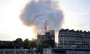 Παναγία των Παρισίων: Οι πυροσβέστες εισήλθαν στη Νοτρ Νταμ σε λιγότερο από 10 λεπτά
