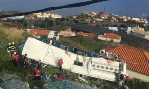 Πορτογαλία: 28 νεκροί από ανατροπή τουριστικού λεωφορείου στη Μαδέρα