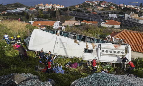 Τραγωδία στην Πορτογαλία: Γερμανοί και τα 28 θύματα του τροχαίου - σοκ στη Μαδέρα