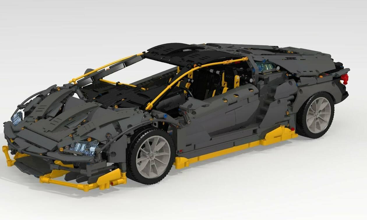 Αυτή είναι η πιο φτηνή Lamborghini Centenario που μπορείτε να αποκτήσετε!