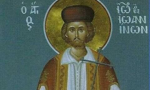 Άγιος Ιωάννης ο Ράπτης: Έψαλε το «Χριστός Ανέστη» μπροστά στον δικαστή του