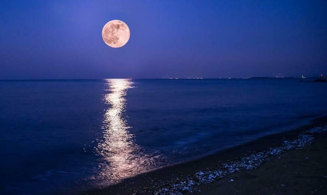 Πανσέληνος: Σήμερα το «ροζ φεγγάρι»! (photo) - Newsbomb