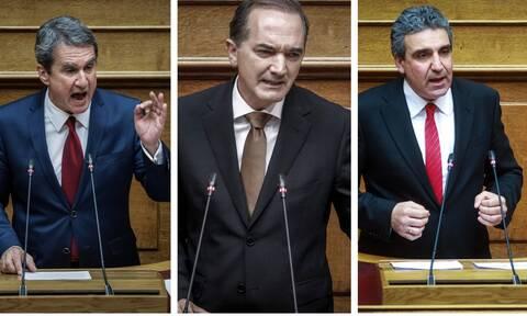 Άρση ασυλίας για Λοβέρδο, Σαλμά και Φωκά αποφάσισε η Βουλή