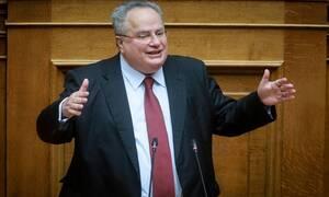 Νίκος Κοτζιάς: Ο Πάνος Καμμένος είναι «εθνικός συκοφάντης»