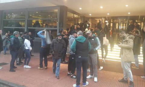 Ρεάλ Μαδρίτης-Παναθηναϊκός ΟΠΑΠ: Αποθέωση από τον κόσμο κατά την αναχώρηση! (videos)