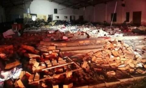 Νότια Αφρική: Δεκατρείς πιστοί σκοτώθηκαν όταν κατέρρευσε εκκλησία λόγω σφοδρής καταιγίδας