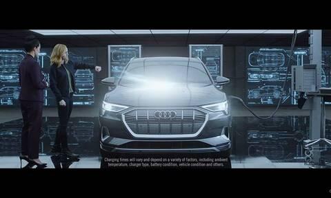 To Audi e-tron και η Captain Marvel