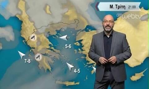 Καιρός Πάσχα: Η ανάλυση του Σάκη Αρναούτογλου για τις βροχές της Μεγάλης Εβδομάδας (video)