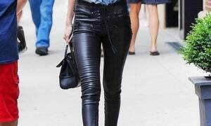 Να γιατί το δερμάτινο παντελόνι ταιριάζει σε όλες τις γυναίκες-Τα μυστικά για κάθε σωματότυπο