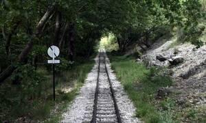 Κατολίσθηση στη σιδηροδρομική γραμμή Διακοπτό - Καλάβρυτα