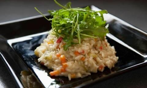 Η συνταγή της ημέρας: Κρεμώδες ριζότο λαχανικών