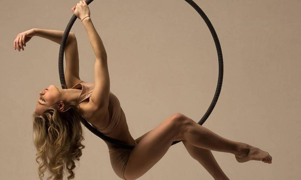 Αerial hoop: Η νέα μόδα στην γυμναστική που λατρεύουν σε όλο τον κόσμο