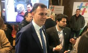 Εκλογές 2019 - Καραμέρος: Το αδιαχώρητο στα εγκαίνια του εκλογικού κέντρου «Ενωμένο Μαρούσι»